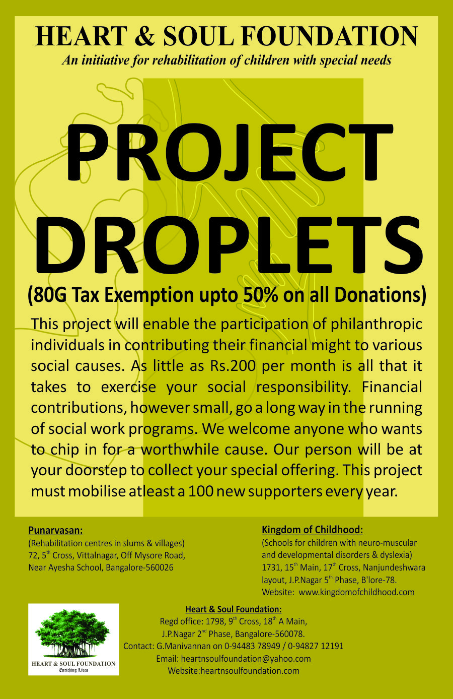 Project Droplets